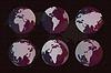 Weltkarte Globus Erde Textur