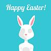 Grußkarte Ostern-Kaninchen