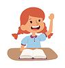 Schule Mädchen Lernen