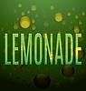 Векторный клипарт: лимонад зеленый текст пузыри логотип