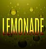 Векторный клипарт: лимонада желтый текст пузыри логотип