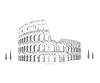 Kolosseum ist das größte römische Amphitheater