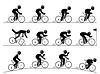 Radrennen Piktogramm