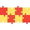 Puzzle-Hintergrund | Stock Vektrografik
