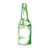 Векторный клипарт: бутылка пива 0
