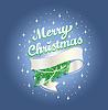 Christmas ribbon free | Stock Vector Graphics