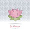 Векторный клипарт: Тайский массаж и спа-элементы дизайна