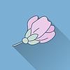 Vektor Cliparts: Spa flach Symbol
