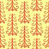 Weihnachtsbaum ethnische verzierung nahtlose Muster