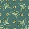 Vektor Cliparts: Abstract flower nahtlose Muster Hintergrund. Textur
