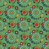 Vektor Cliparts: Bright Green nahtlose Muster