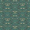 Vektor Cliparts: Beeren abstrakter nahtlose Muster