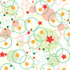 Abstrakte nahtlose Kind Muster wuth Sternen | Stock Vektrografik