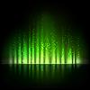 Grüne Aurora Licht. Abstrakte Hintergründe
