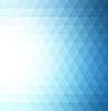 抽象蓝色几何的技术背景 | 向量插图