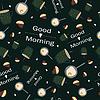 Векторный клипарт: Шаблон кофе