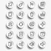 Векторный клипарт: Набор веб-иконок для бизнеса, финансов и