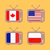 Векторный клипарт: набор иконок с флагами стран, известных на ORANG