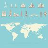 Reisen und Tourismus Hintergrund