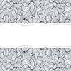 abstrakte nahtlose Muster mit zerrissenem Papier
