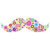 Векторный клипарт: цветочные усики