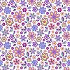 Векторный клипарт: Бесшовные шаблон с пастельными цветами