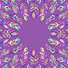 Векторный клипарт: абстрактные красочные перья