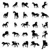 Unicorn Silhouette Set