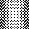 Schwarz weiß nahtlose vertikale Punktmuster