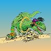Dinosaurier t Rex weiblich