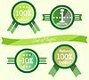 Set von Logos für Web-Design