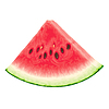 Piece of watermelon | Stock Vector Graphics