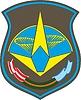 Векторный клипарт: Шеврон космодрома Плесецк
