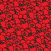 Vektor Cliparts: tomatos Muster