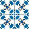 Vektor Cliparts: portugiesischen Kacheln