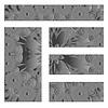 Floral decorative background, template frame design | Stock Vector Graphics