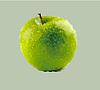 Векторный клипарт: яблоко