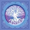 Векторный клипарт: Дерево зимой
