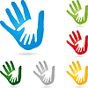 Векторный клипарт: Руки, физиотерапия, дети рука