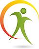 Векторный клипарт: Люди, один человек, Спорт