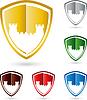 Turm, Burg-Logo, Burg, wappen, logo