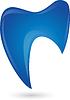 Vektor Cliparts: Zahn, Zahn-Logo, Zahnarzt Logo