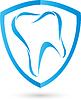 Vektor Cliparts: Tooth, Logo, Zahnarzt, schild
