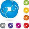 Vier Tropfen Logo, Wasser, Tropfen