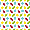 Vektor Cliparts: Nahtlose Muster Textur mit Neujahr und Christma