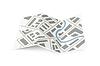 Vektor Cliparts: Folding Karte der Stadt mit Schatten