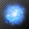 Vektor Cliparts: Blau helles Licht, magische Wirkung