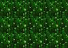 Vektor Cliparts: Grüne Matrix digitalen Binärcode auf dunklem