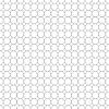 Vektor Cliparts: Grau Gitter aus fünf Millimeter Kreise,