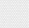 Vektor Cliparts: Grau Raster von fünf Millimeter Kreise, nahtlose